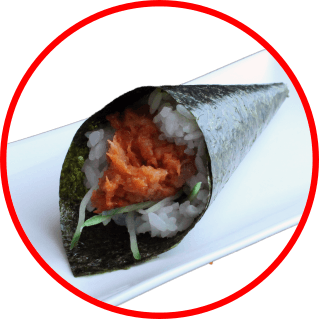 Foto Spicy tuna temaki